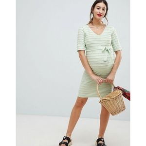 NWT ASOS Maternity Mama.licious Ribbed Shift Dress